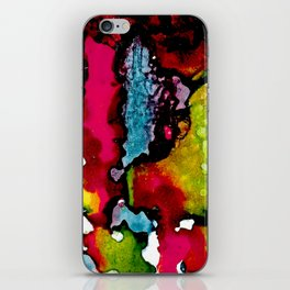 Primary Psychedelic Melt Down iPhone Skin