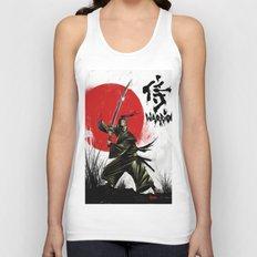 Samurai Warrior Unisex Tank Top