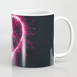 Firework Heart (Color) Coffee Mug