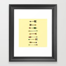 WHICH ROAD? Framed Art Print