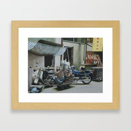 Pile And Pile 3 Framed Art Print