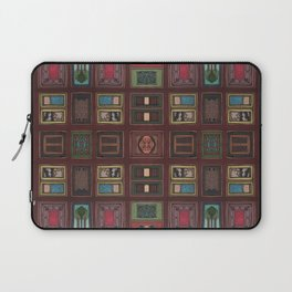 SEE THROUGH THE GRID Laptop Sleeve