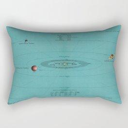 Celestial Wall Art and Home Decor Rectangular Pillow