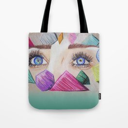 Through your eyes Tote Bag