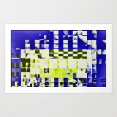 fragmented dream #12 Art Print