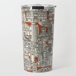 Hong Kong toile de jouy Travel Mug