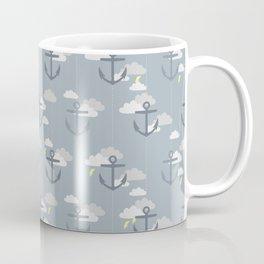 Stormy Nautical Pattern 2 Coffee Mug