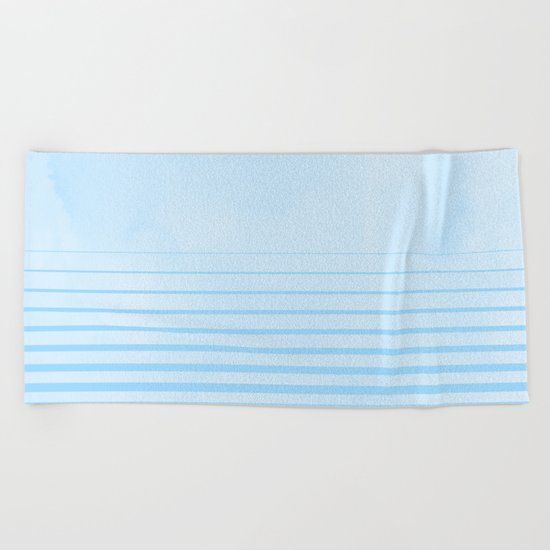 Sweet Life Collection Gradient Blue Raspberry Beach Towel