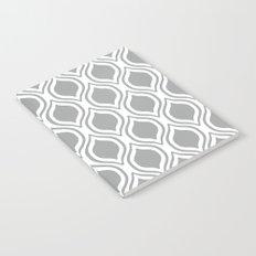 Grey and white Alabama pattern university of alabama crimson tide college Notebook