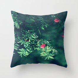Autumn silance Throw Pillow