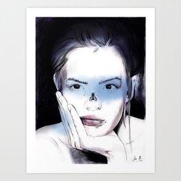 The fly. Art Print