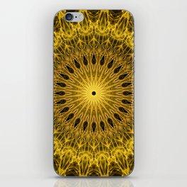 Golden Mandala iPhone Skin