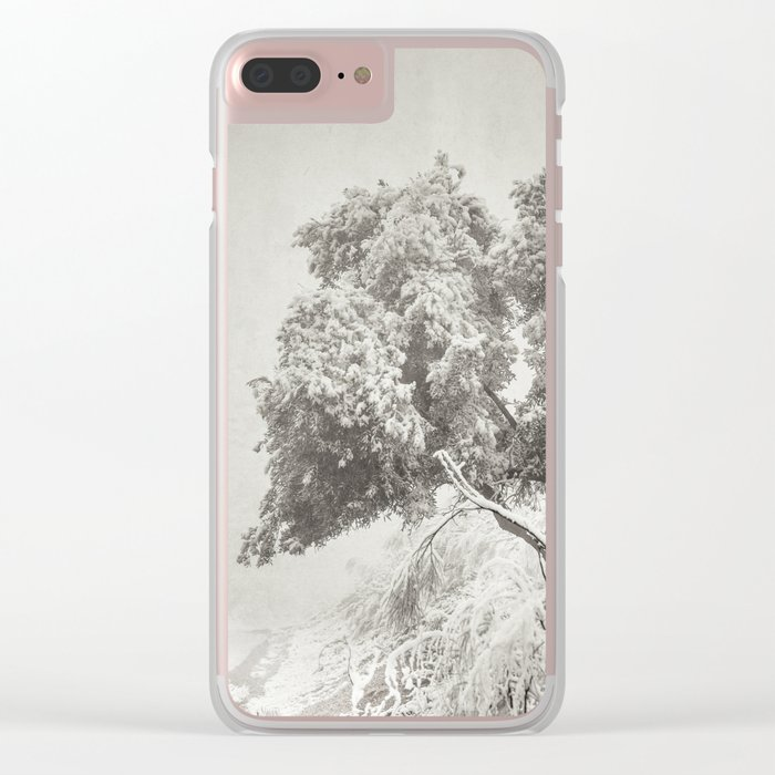 """""""Wandering into the fog"""" Clear iPhone Case"""
