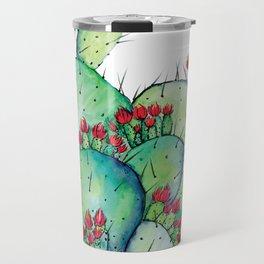 Blossoming Cacts Travel Mug