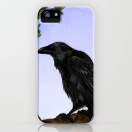 Huginn and Muninn iPhone Case