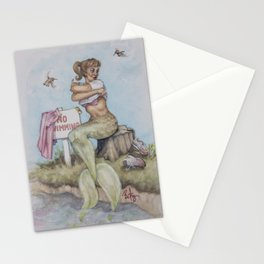 No Swimming Little Mermaid Stationery Cards