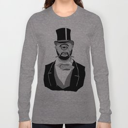 The Greatest Mustache Unknown to Man Long Sleeve T-shirt