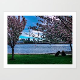 Boston - A View from the Other Side Art Print