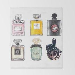 Perfume Collection Throw Blanket
