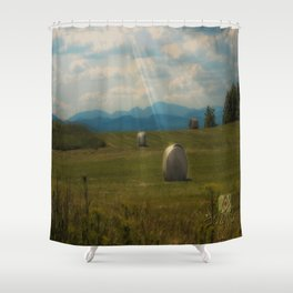 Country Sun  Shower Curtain