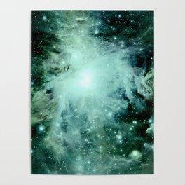 Orion neBUla. : Green Poster