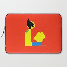 Weapon X Gentleman Reads Laptop Sleeve