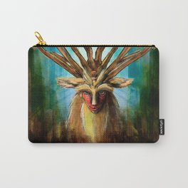 Princess Mononoke The Deer God Shishigami Tra Digital Painting. Carry-All Pouch