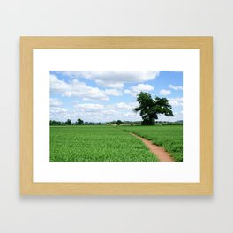 Herefordshire Countryside Framed Art Print