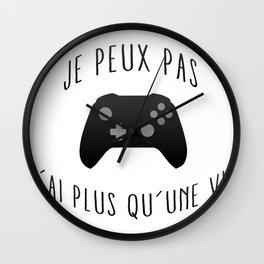 Game Plus qu'une Wall Clock
