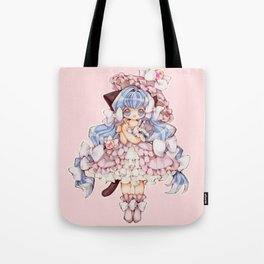 Kitty Princess Tote Bag