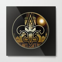 Time for New Orleans  Metal Print
