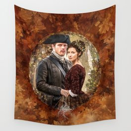 Autumn outlander Wall Tapestry