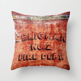 Seligman Fire Dept. Throw Pillow
