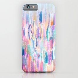 Candy Feathers  iPhone Case