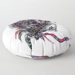 Death God Itzamna Floor Pillow