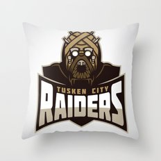 Tusken City Raiders Throw Pillow