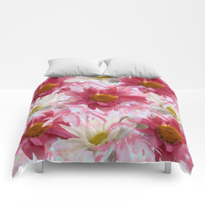 Spring Floral Explosion Comforters