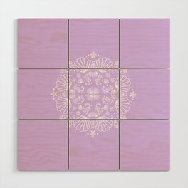 Lilac Mermaid Wood Wall Art