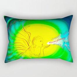 Lucky Angels- Good Luck Rectangular Pillow