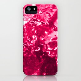 Pink Jacuzzi Bath Bubbles iPhone Case