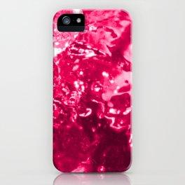 Pink Jacuzzi Bath Bubbles iPhone Case