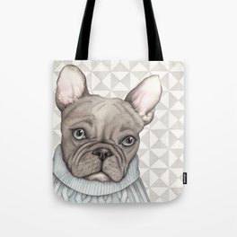French style - French Bulldog Tote Bag