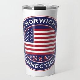 Norwich, Connecticut Travel Mug