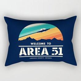Welome to Area 51 Rectangular Pillow