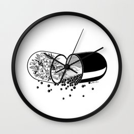 Sleep Forever Wall Clock