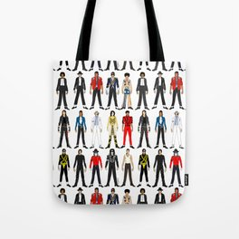 Outfits of King MJ Pop Music Tote Bag
