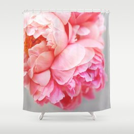 Peonies Forever Shower Curtain