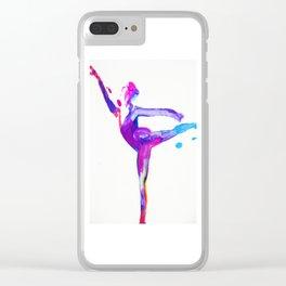 Dancer Clear iPhone Case