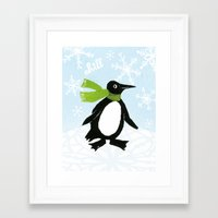 chill Framed Art Prints featuring Chill by MollyBroadley