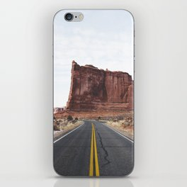 Arches National Park Road iPhone Skin